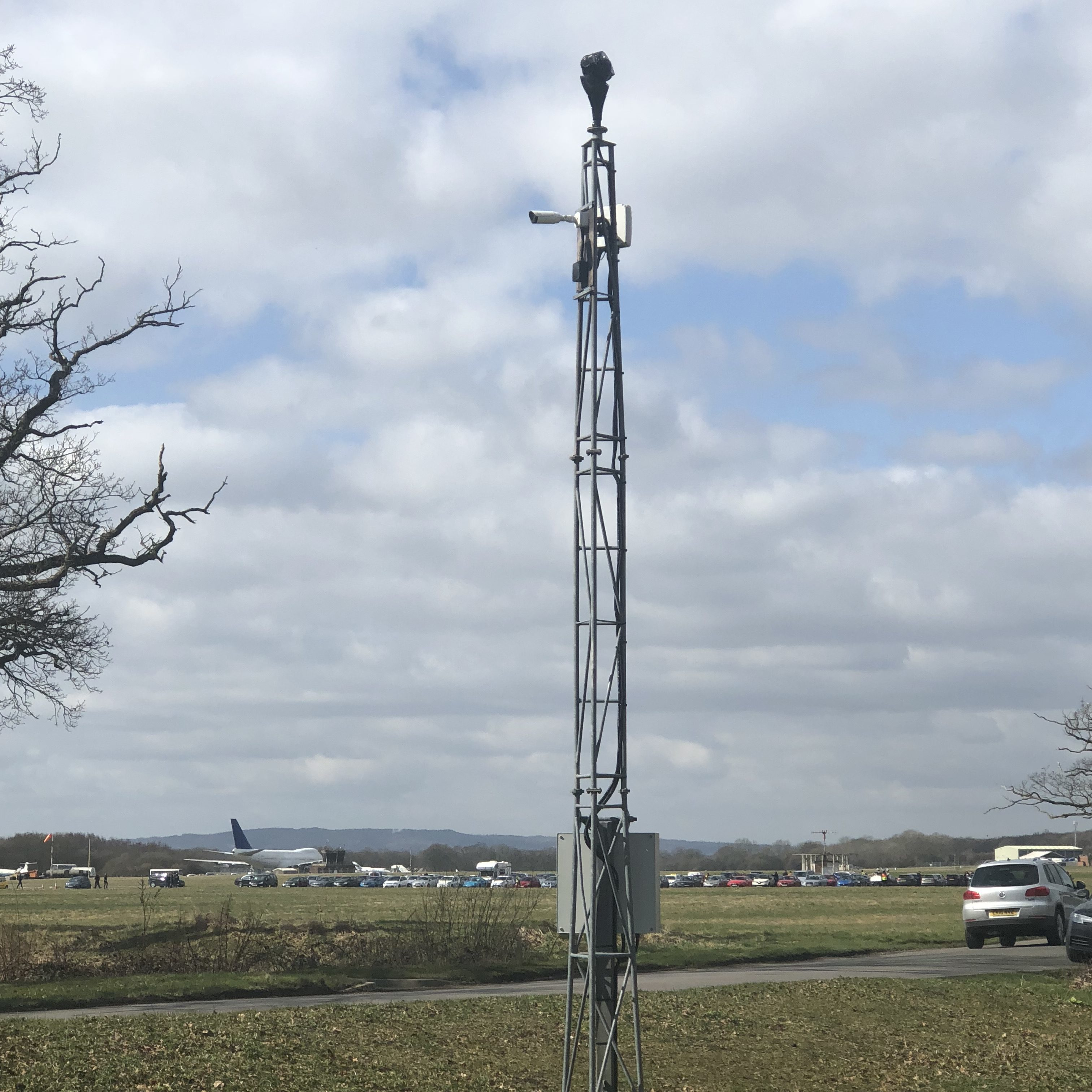 Redvision's cameras help to protect Dunsfold Park airfield.