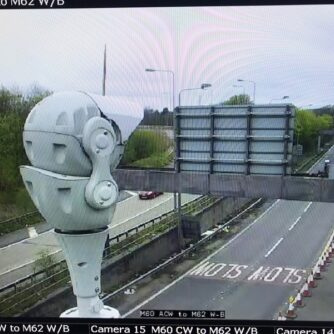 Redvision X-SERIES™ PTZ cameras are used by Graham Firth Communications in the new, M62, traffic management system for Highways England.