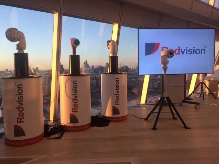 Adam Bannister of IFSEC Global attends the VOLANT's London launch.