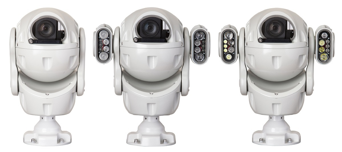 Redvision's new X2-COMBAT™ ball PTZ camera blends rugged good looks with smart performance.