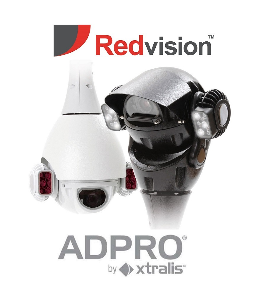 Redvision's X-SERIES™ rugged PTZ domes now integrate with the Xtralis ADPRO XOa software platform.
