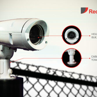I can see clearly now the rain has gone – thanks to the wiper on Redvision's VEGA™ 2010 rugged housing!